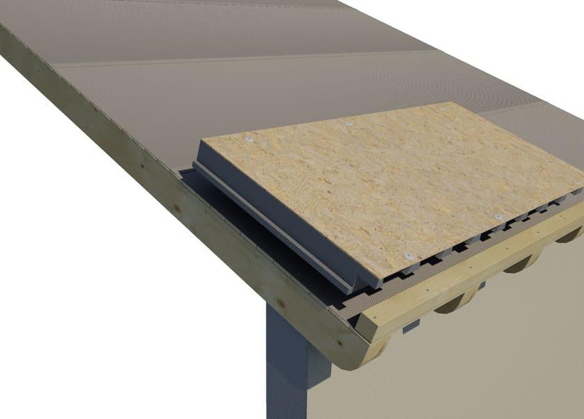 AIREK LAMBDA | Sistema per tetto ventilato SISTEMA DI POSA: POSA E FISSAGGIO DEI PANNELLI AIREK SULLA COPERTURA