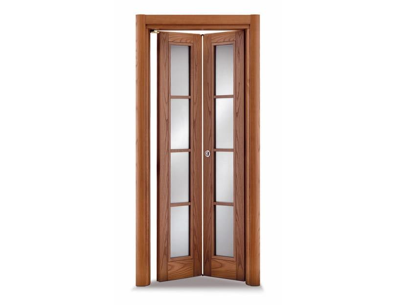 Porta a libro in vetro stella by ghizzi benatti - Porte finestre a libro ...
