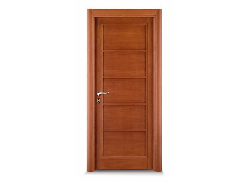 Hinged wooden door DOMINO by Ghizzi & Benatti