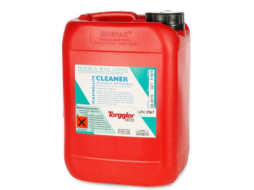 Surface cleaning product PIASTRELLITE CLEANER by Torggler Chimica