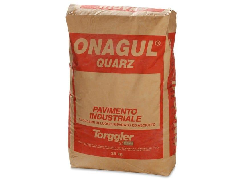 Continuous cement flooring ONAGUL QUARZ by Torggler Chimica