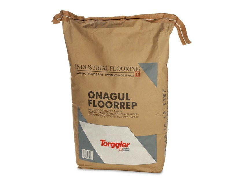Self-levelling mortar ONAGUL FLOORREP by Torggler Chimica