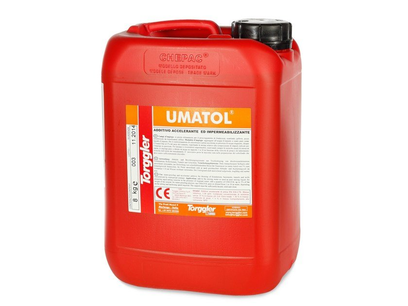 Additive for cement and concrete UMATOL by Torggler Chimica