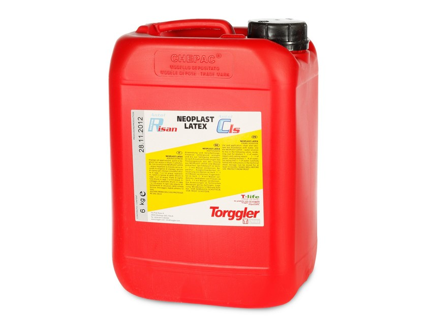 Additive for cement and concrete NEOPLAST LATEX by Torggler Chimica