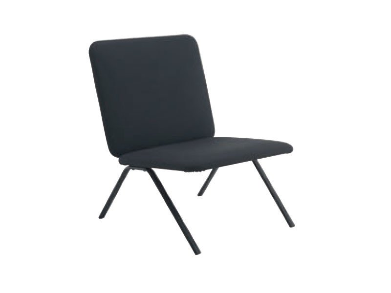 Upholstered fabric easy chair SIMPLISSIMO by Ligne Roset