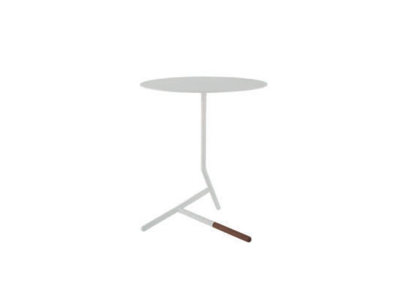 Low round steel coffee table LOVEY by Ligne Roset