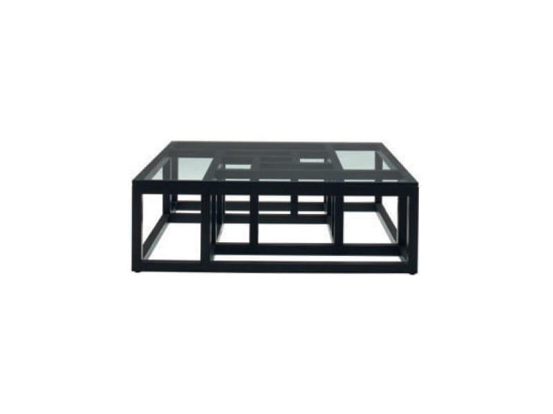 Low beech coffee table ANTIGONE by Ligne Roset