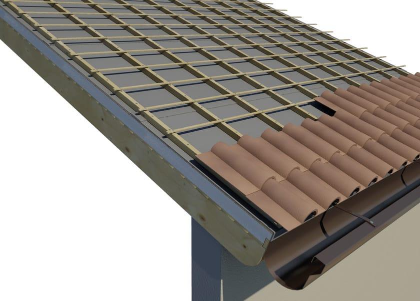 SANDWICH -sistema tetto autoportante SISTEMA DI POSA: MANTO DI COPERTURA IN TEGOLE O COPPI
