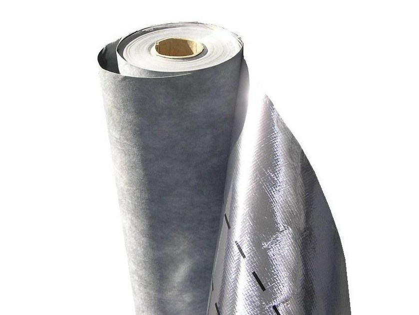 Breathable under roof fabric MEMBRANA TRASPIRANTE RIFLETTENTE | Breathable protective fabric for roof space by RE.PACK