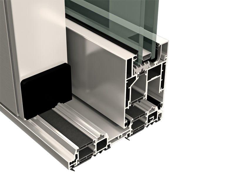 Scorrevole alluminio a taglio termico TOP SLIDE 160 by ALsistem