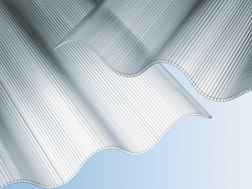 Polycarbonate Sheet Akralux Onda By Akraplast Sistemi