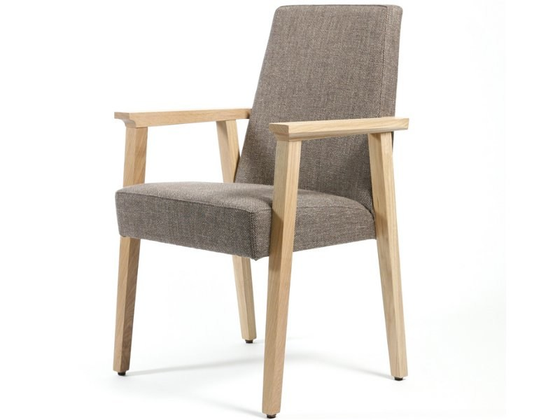 Upholstered chair with armrests CONFERENCE | Chair with armrests by Inno