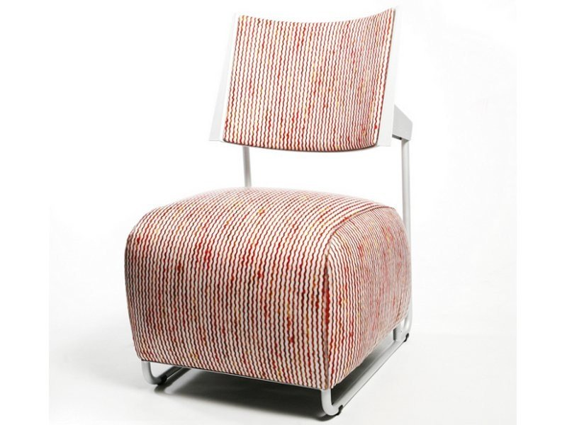 Upholstered fabric easy chair OSCAR   Easy chair by Inno