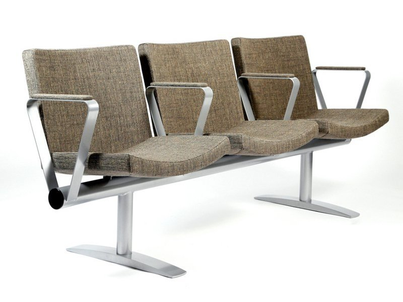 Beam seating with armrests BEAM | Beam seating by Inno
