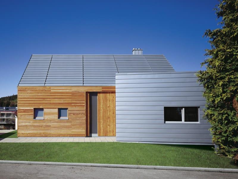 Titanium-Zinc Metal sheet and panel for roof QUICK STEP by RHEINZINK Italia