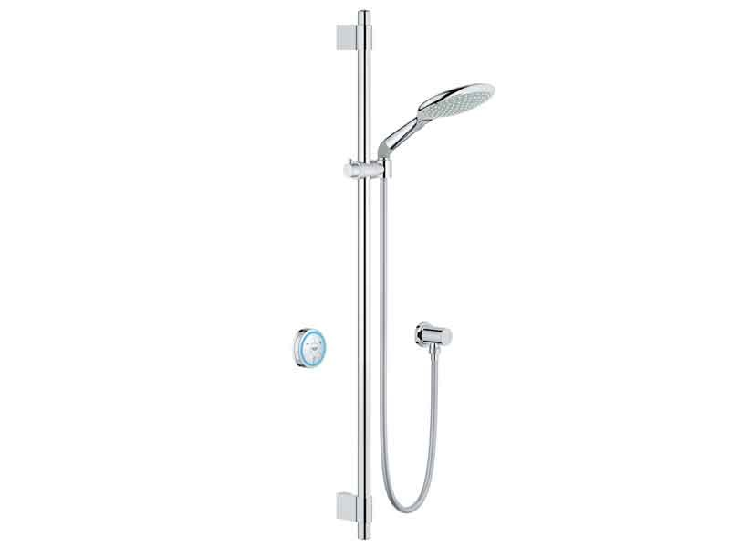 Shower panel with hand shower GROHE F-DIGITAL by Grohe