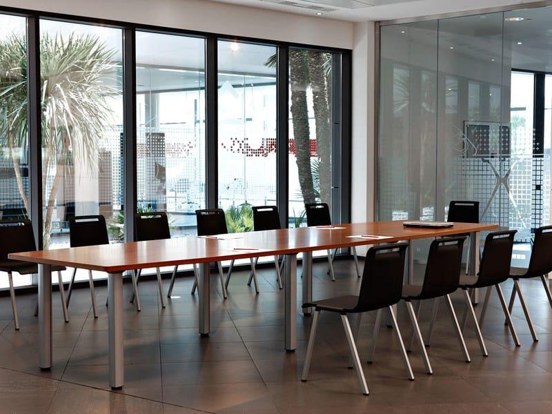 Tavolo da riunione rettangolare COOL C400 - C500 by ACTIU