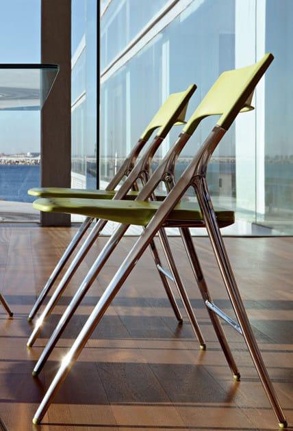 Cadeira de conferência dobrável PLEK | Cadeira de conferência dobrável by ACTIU