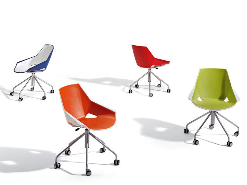 Task chair with casters VIVA | Task chair by ACTIU