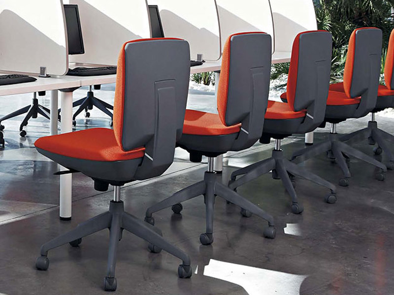 Task chair with casters ERGOS by ACTIU