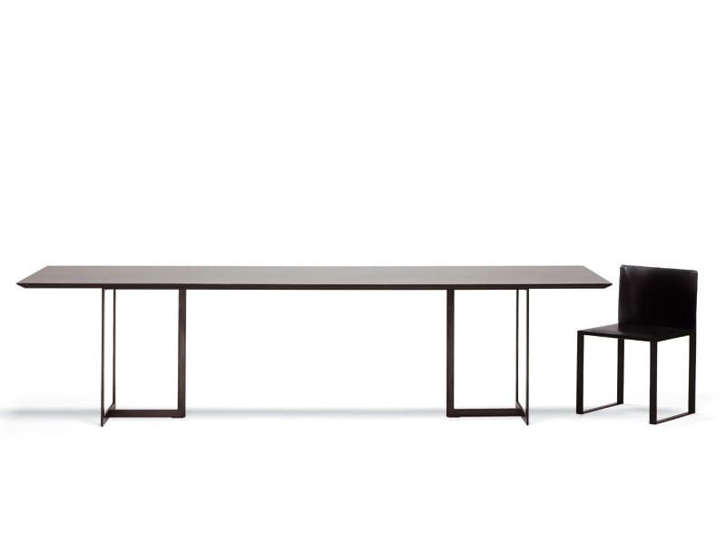 Rectangular table LEONARDO   Rectangular table by YDF