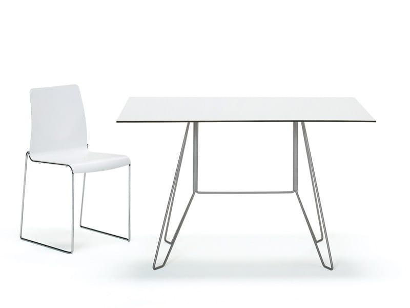 Square garden table MAROCCHINO   Square table by YDF