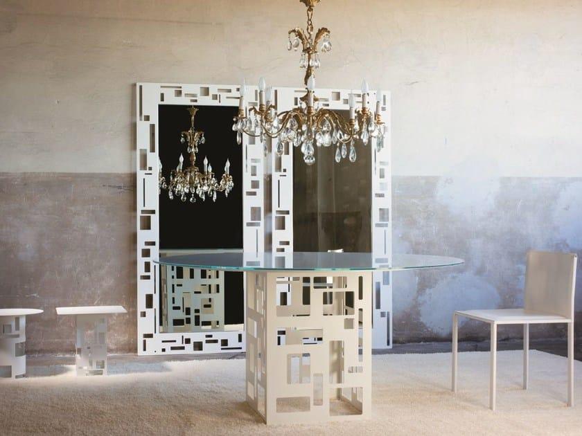 Custom crystal table VELASCA | Crystal table by YDF