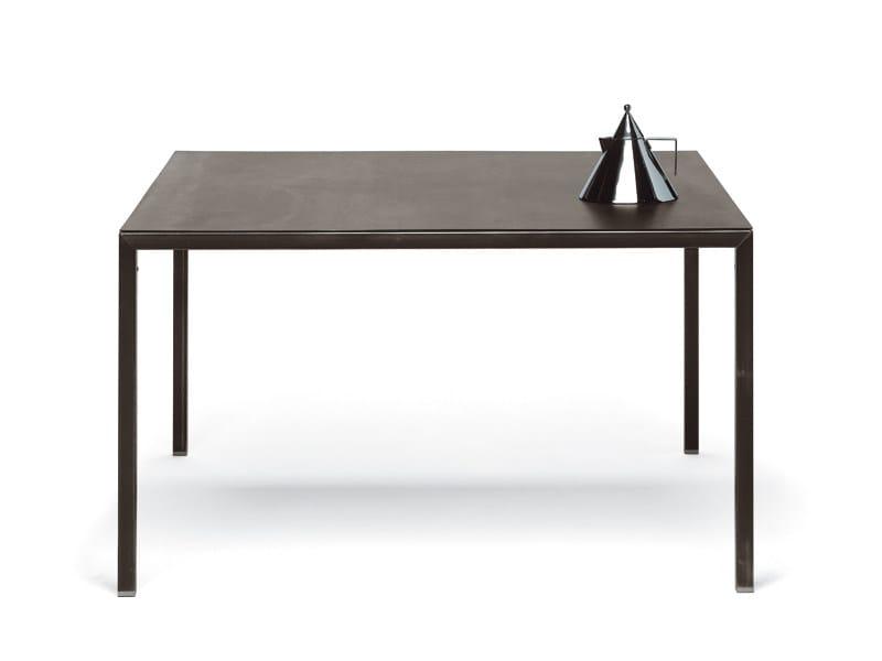 Custom metal table ERNESTO NATURAL by YDF