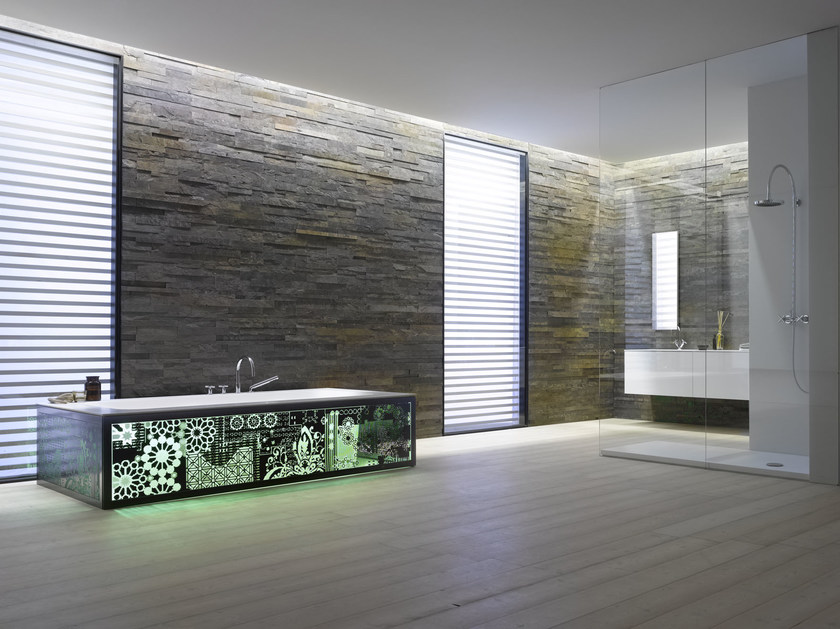 Natural stone wall tiles MULTICOLOUR MURALES by Artesia