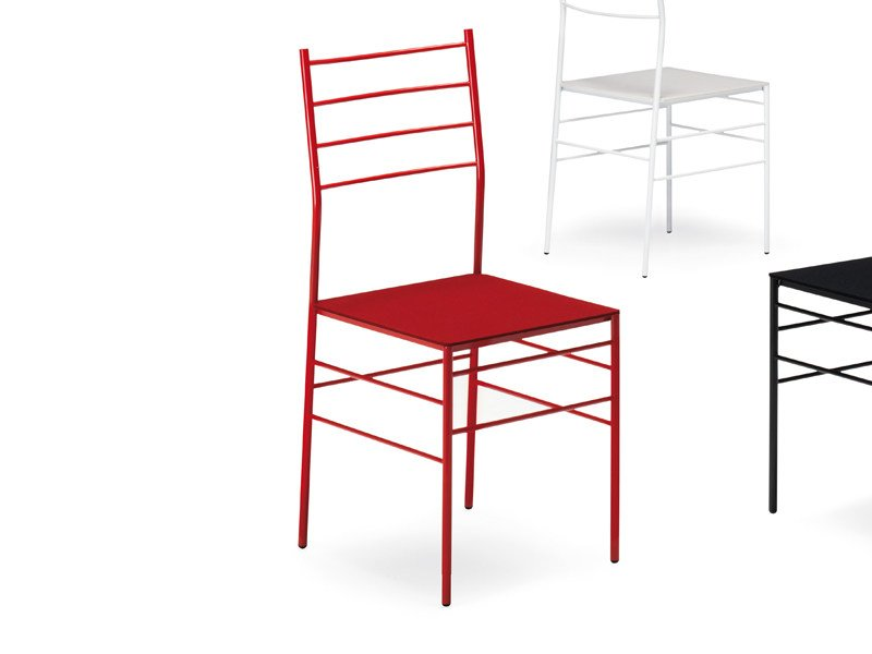 Ergonomic metal chair FRED by YDF
