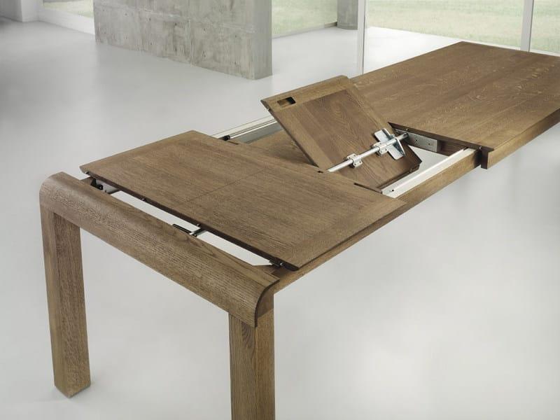 Tavolo allungabile in legno WOODCONCEPT By Domus Arte design Enrico ...