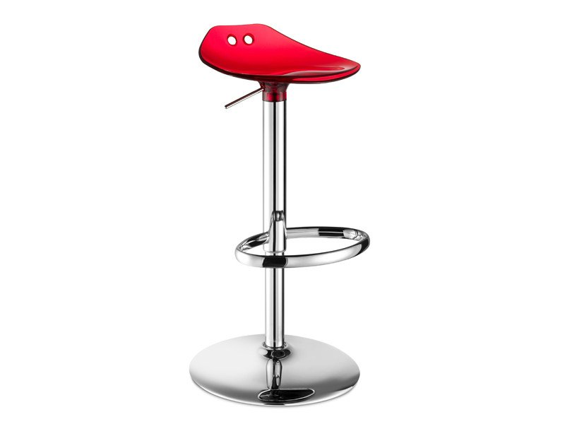 Height-adjustable swivel stool FROG UP by SCAB DESIGN