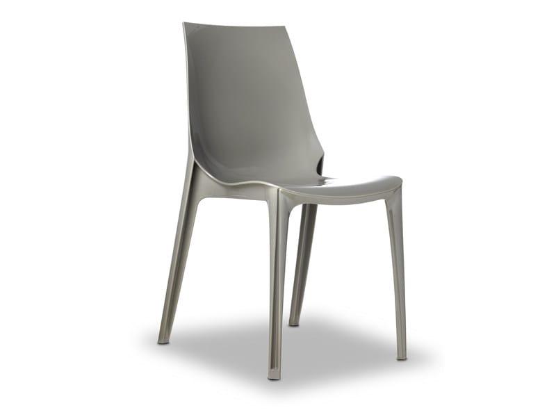 Sedia impilabile in policarbonato VANITY | Sedia by SCAB DESIGN