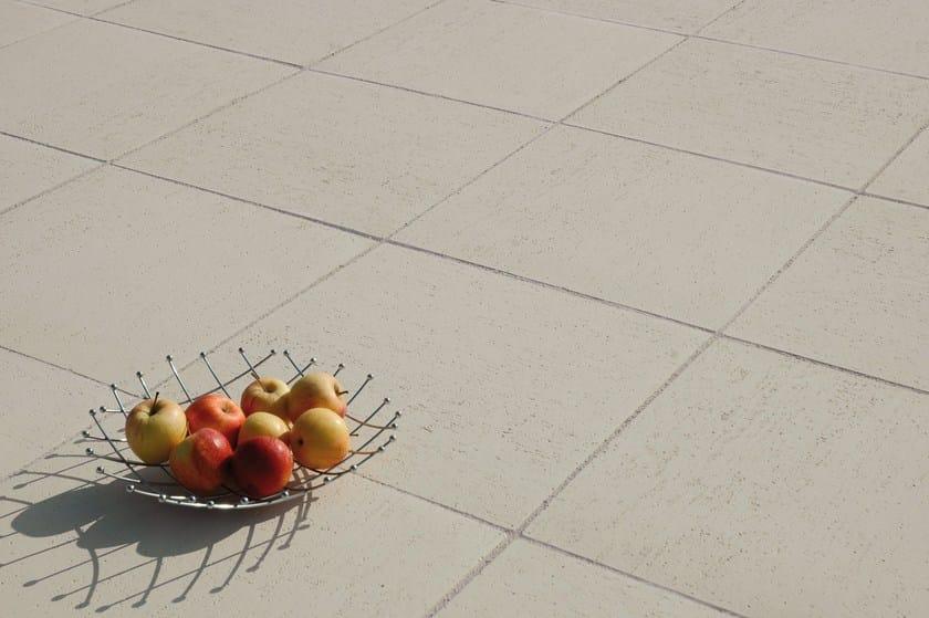 Stone outdoor floor tiles ARAGONE by Weser