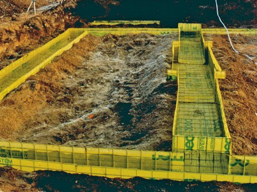 Disposable formwork PECAFIL® by Max Frank Italy