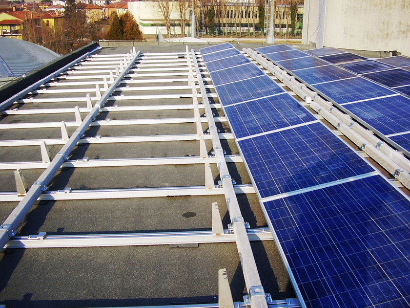 Support for photovoltaic system IKARO - Z by STRUKTURE