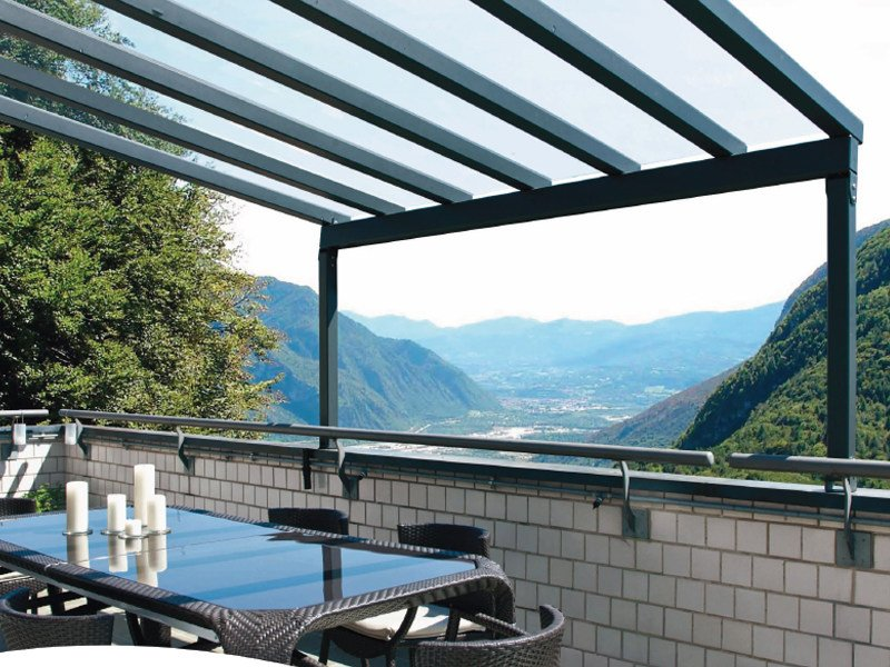 Aluminium pergola R 115-116-117 SOLARIUM by BT Group