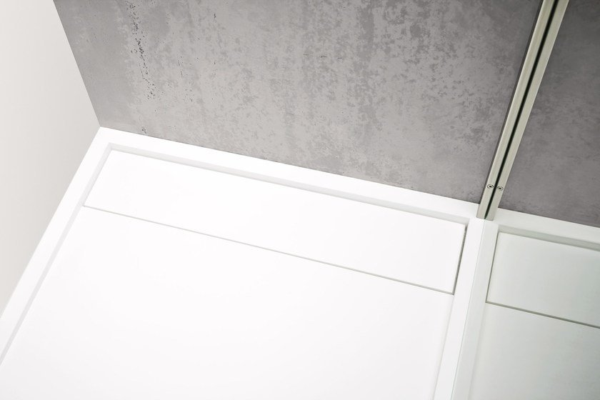 Rectangular Corian® shower tray R1 | Shower tray by Rexa Design