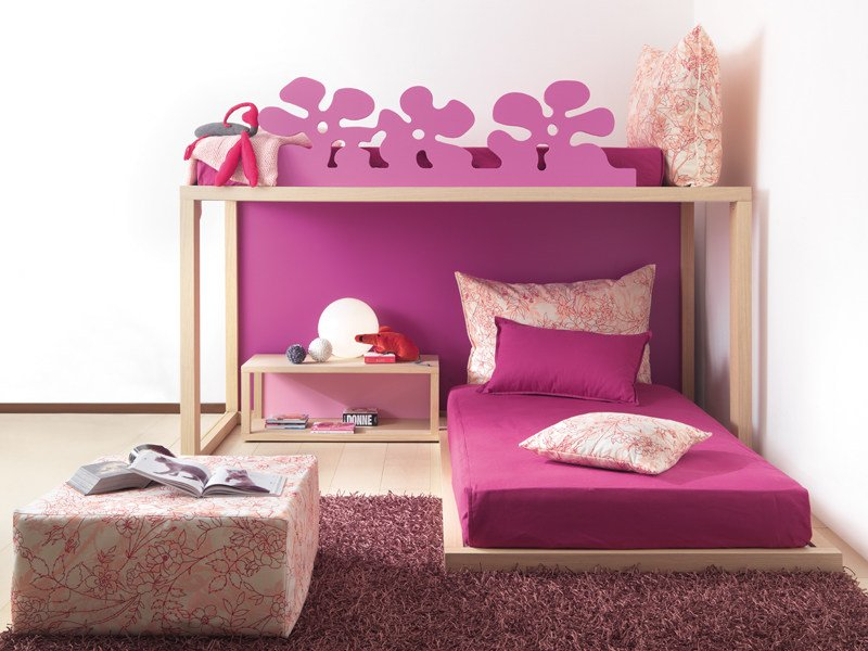 Tatami solid wood single bed 9030 | Tatami bed by dearkids
