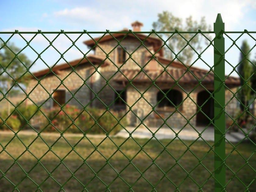Recinzione Reti Per Giardino.Palo In Profilato T Per Sostegno Di Recinzioni Metalliche
