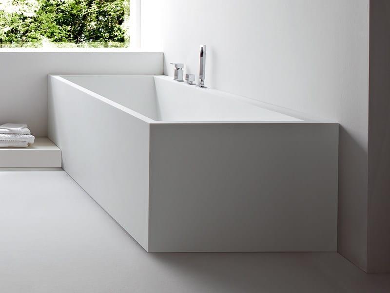 Vasca Da Bagno Rettangolare : Nd floor vasca da bagno da incasso by duravit design sieger design