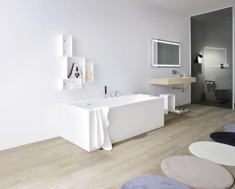 unico rectangular bathtub by rexa design design imago design. Black Bedroom Furniture Sets. Home Design Ideas