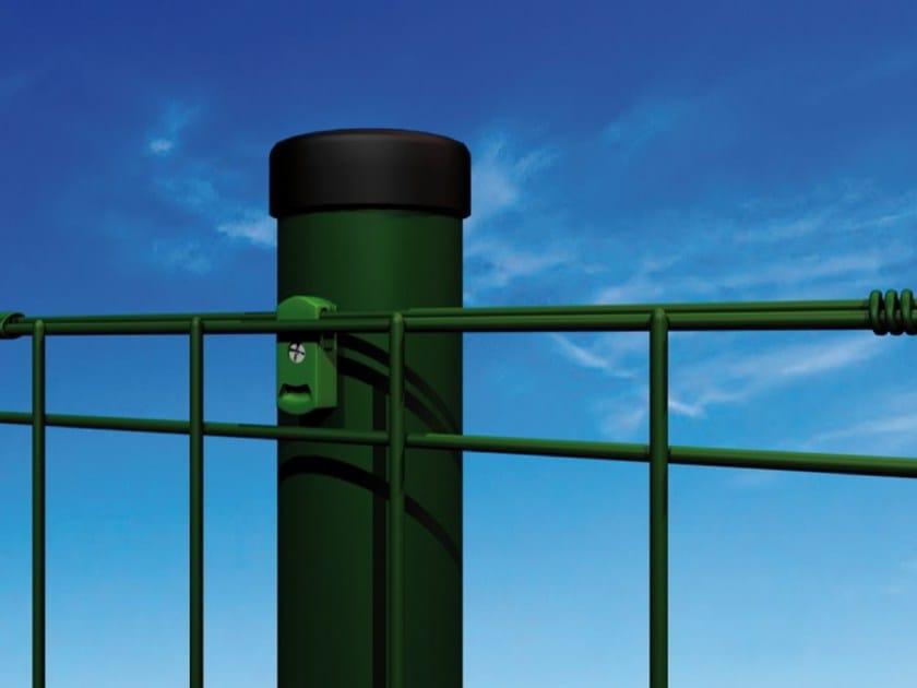 TUBOLINEA Palo Tubolinea con passafilo in PVC e rete elettrosaldata