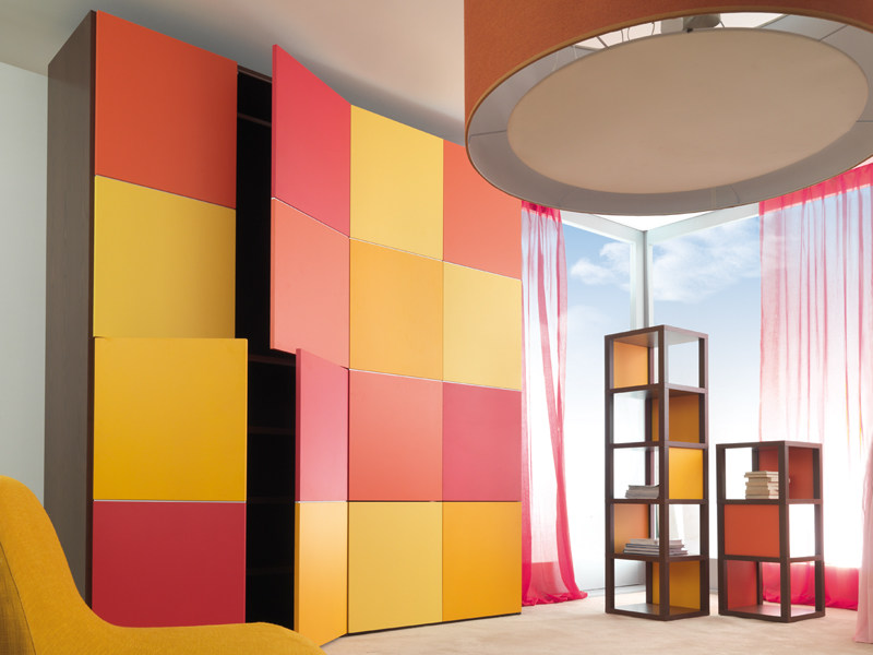 Sectional lacquered wardrobe 9002 | Wardrobe by dearkids