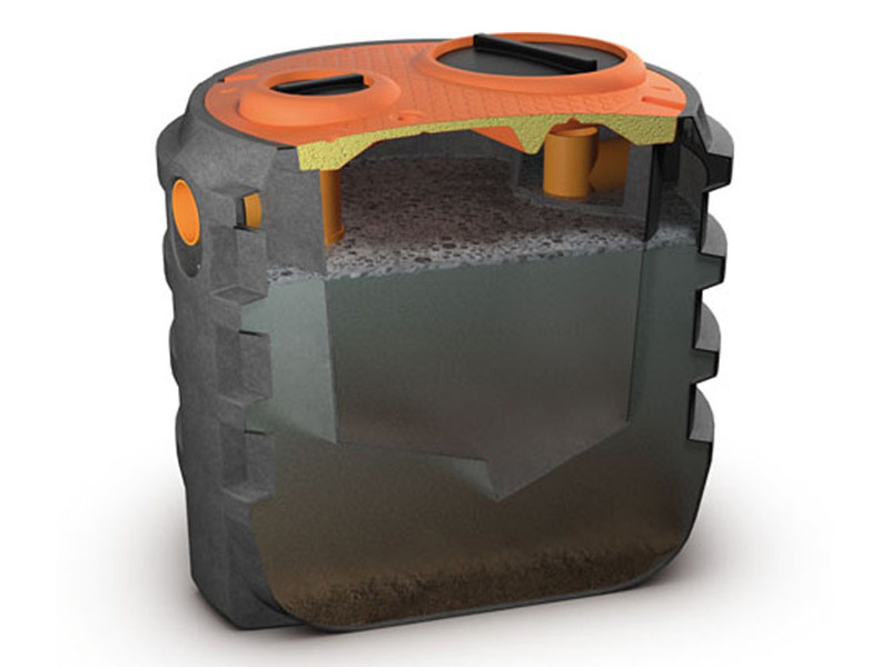 Sewage collection tank IMHOFF by Starplast