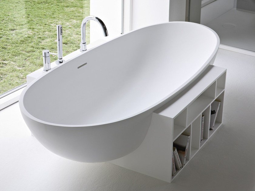 Vasca da bagno ovale in korakril™ egg by rexa design