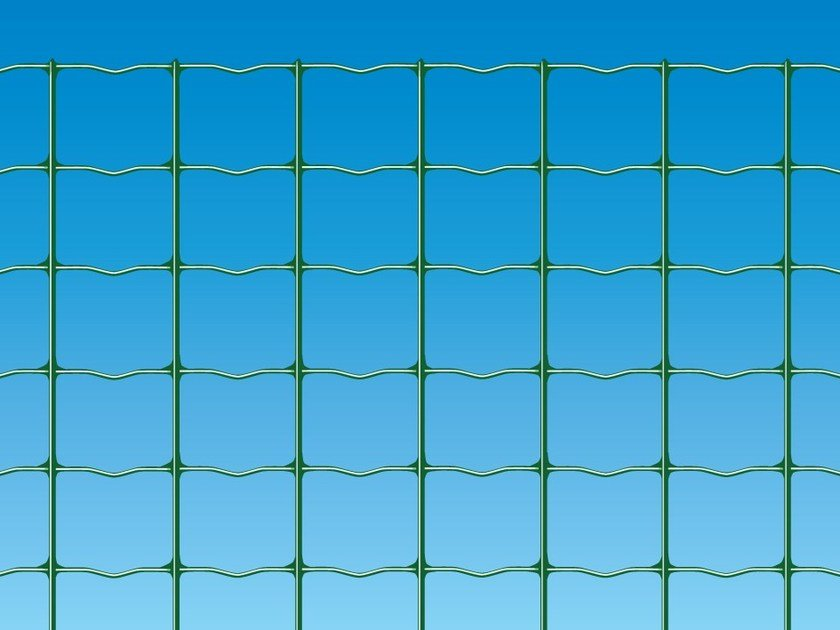 Security electrically welded mesh Fence STRONG by Ferro Bulloni