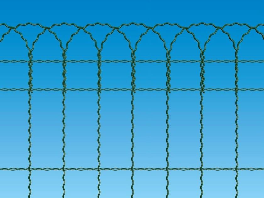 Zaun aus Drahtgewebe Kunststoffbeschichtete ORNAPLAST By Ferro Bulloni