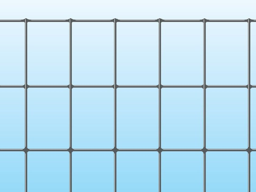Electrically welded mesh Fence EXECUTIVE ECO ZINC by Ferro Bulloni