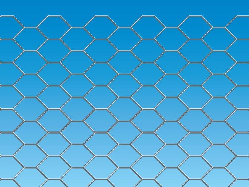 Wire mesh Fence ESAGONA by Ferro Bulloni